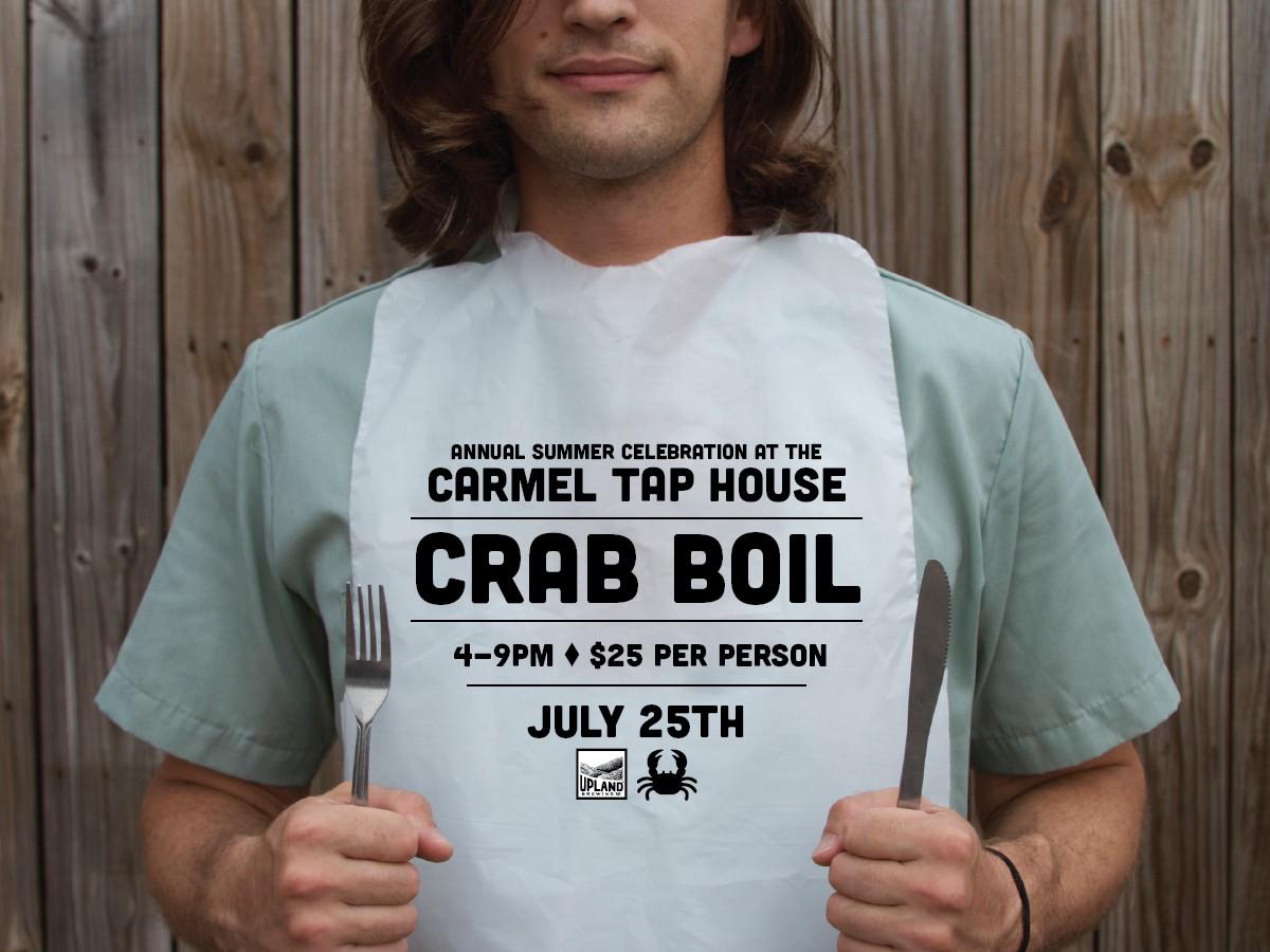 carmel tap house crab boil ‹ upland