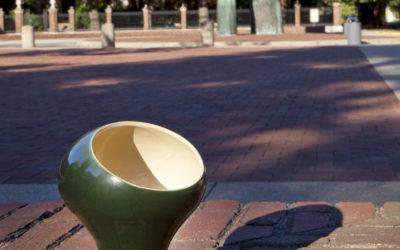 Experience design with commemorative Exhibit Columbus stein