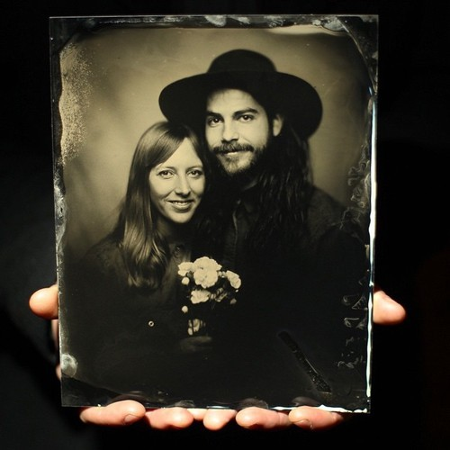 Giles Clement Tintype Pop-Up