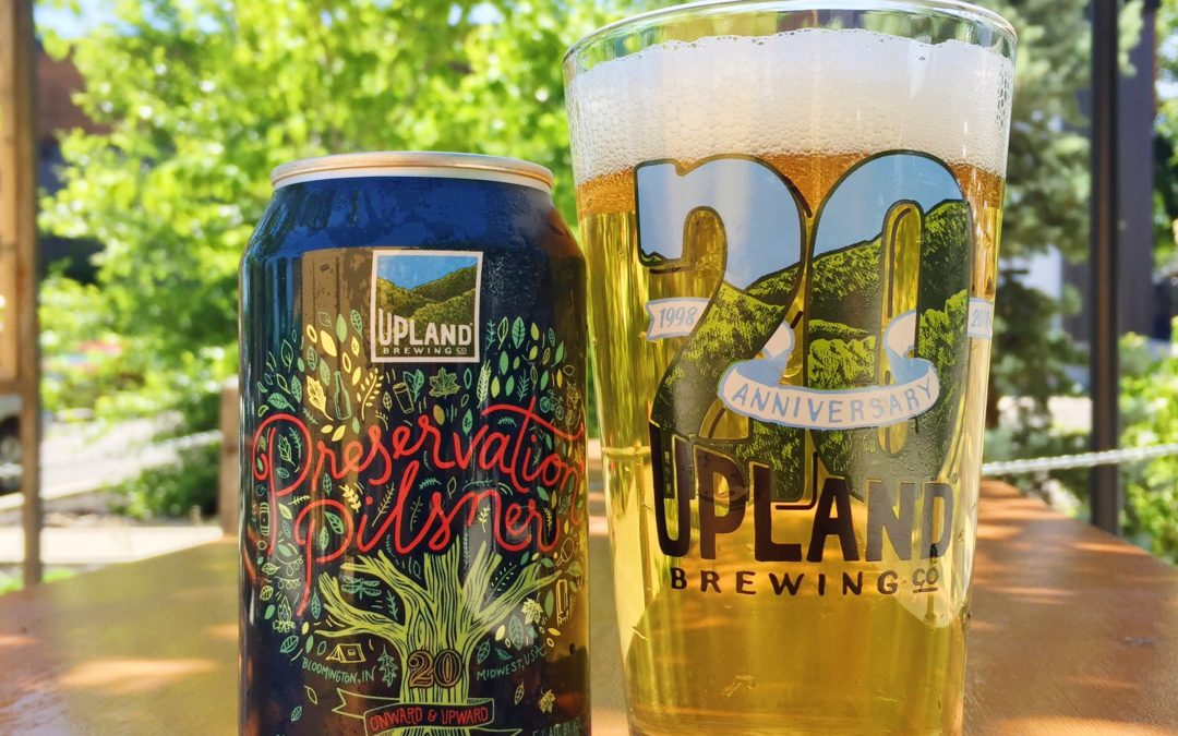 Preservation Pilsner is back for our 20th Anniversary